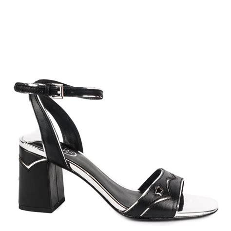 shop ash footwear quantic sandals in black today