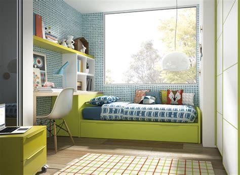 Dormitorio Infantil Con Cama Nido