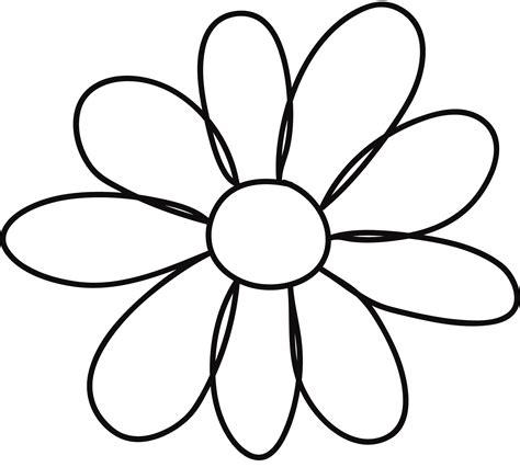 Flower Template Printable Flower Template For Children S Activities Activity Shelter
