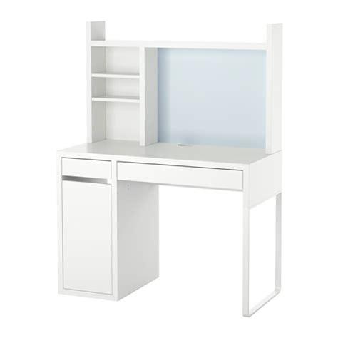 ikea bureau blanc micke poste de travail blanc ikea