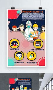 Coronavirus protect yourself poster template image_picture ...
