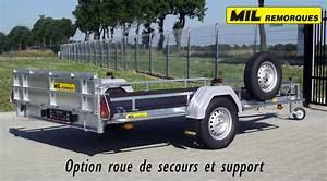 Support Roue De Secours : remorque plateau ~ Dailycaller-alerts.com Idées de Décoration