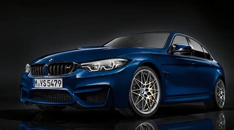 Bmw M3 Picture by 2017 Bmw M3 Gets Lci Update Looks In Blue