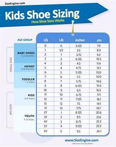 Children Shoe Size Chart By Age Sizeengine
