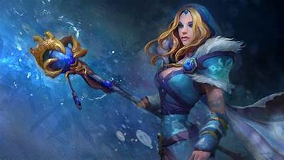 Dota Crystal Maiden Phone Wallpapers 1080p