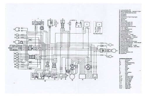 Yamaha xt 250 wiring diagram download :: geilugolfje on