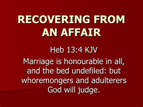 Marriage Bed Is Undefiled by Relationship Clinic Week Two Recap And Recovering From An Aff