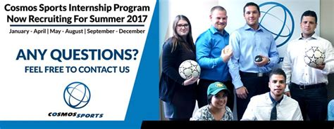 Cosmos Sports Internship Program Now Recruiting For Summer