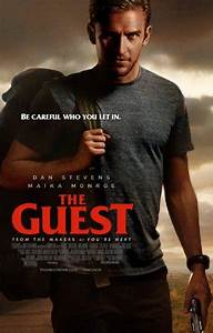 The Guest DVD Cover (2014) Custom Art