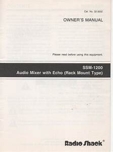 Echo Owners Manual