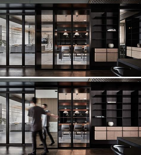 Black Acrylic Glass And Form This And Sophisticated Apartment Interior by Black Acrylic Glass And Form This And