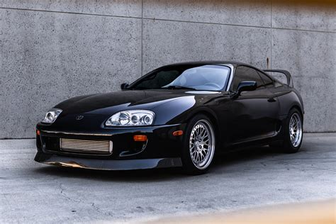 Toyota Of The Black by Black Toyota Supra Ccw Classic Three Forged Wheels