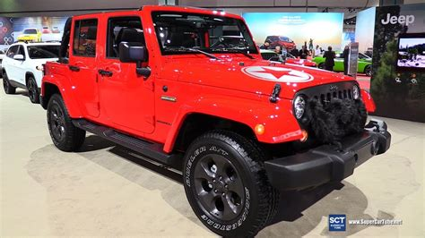 2019 Jeep Wrangler La Auto Show by 2017 Jeep Wrangler Freedom Edition Exterior And Interior