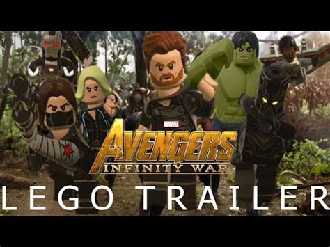 lego marvel studios avengers infinity war official