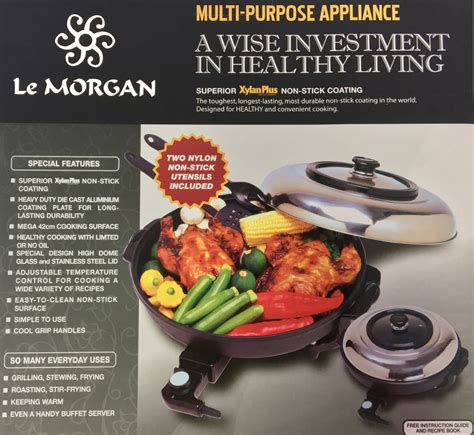 electric frying pan le morgan