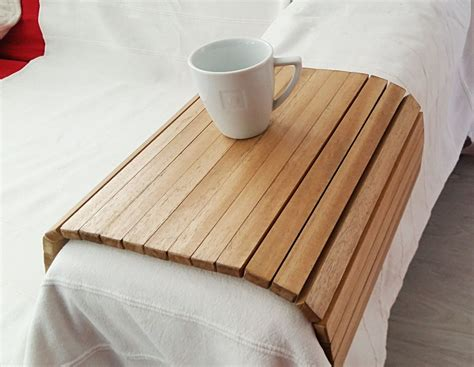 sofa tray wooden tray flexible chair tray wooden tv