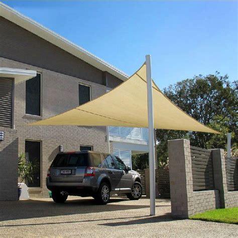 sun shade carport home car parking shade sail shengzhou sanjian netting co