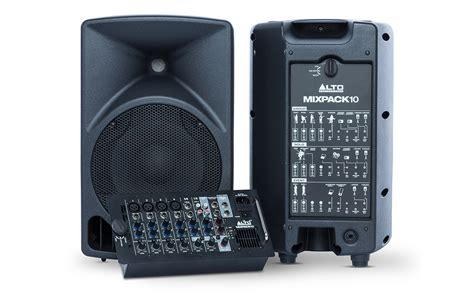 alto professional legacy pa systems series mixpack