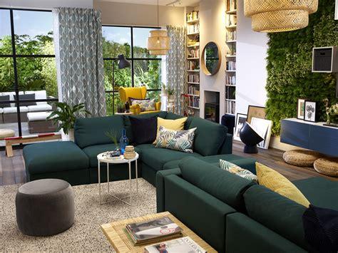 canapé vert ikea image result for ikea vimle sofa green living room