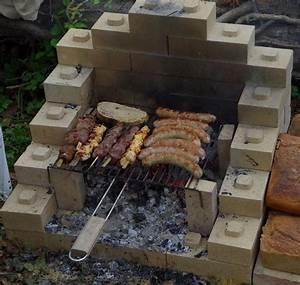 cuisine archaique foire barbecue brique barbecue brique With barbecue fait maison brique