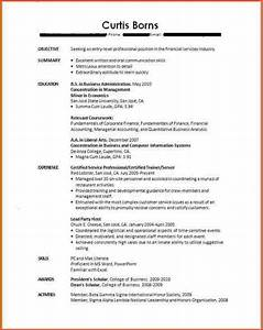 Resume For Students With No Experience