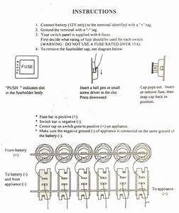 Switch Panel Wiring Diagram