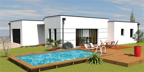 constructeur maison contemporaine toit plat avec pasio solutions pour la d 233 coration int 233 rieure