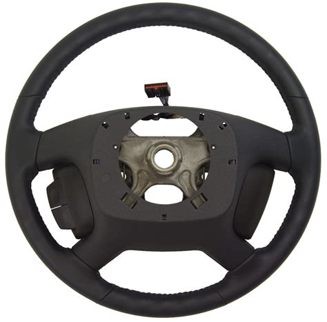electric power steering 2009 saturn outlook transmission control 2009 2010 saturn outlook steering wheel blue leather w cc audio new 25961510 factory oem parts
