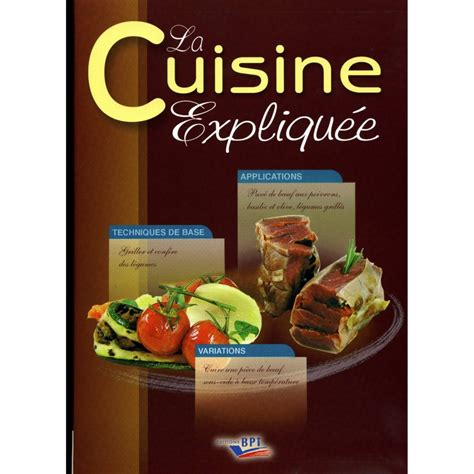un livre de cuisine livres de cuisine professionnelle cap cuisine et bts cook 233 e