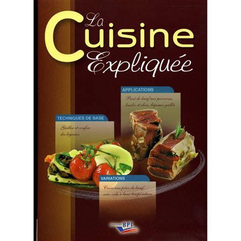 livre technique cuisine professionnel livres de cuisine professionnelle cap cuisine et bts