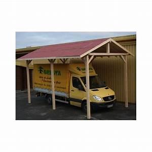 Abri Camping Car Bois : abri camping car bois traite sapin du nord ~ Dailycaller-alerts.com Idées de Décoration