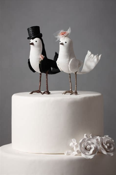 birds wedding cake topper brides birds party invitations ideas