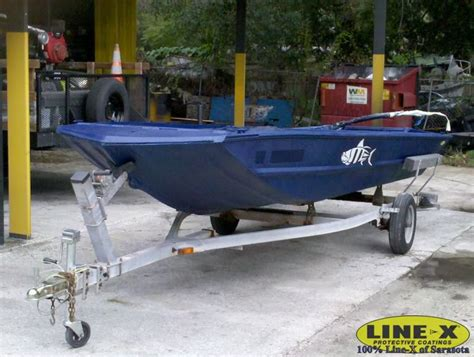 Jon Boat Line X by Sealing Aluminum Hull From Galvanic Corrosion The Hull