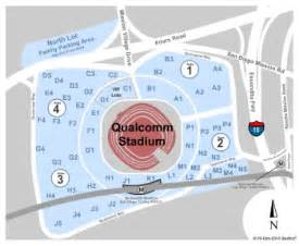 Stadium Seating For Home Theater by Qualcomm Stadium Parking Lots Tickets And Qualcomm Stadium