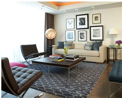brown barcelona chair in living room news yadea
