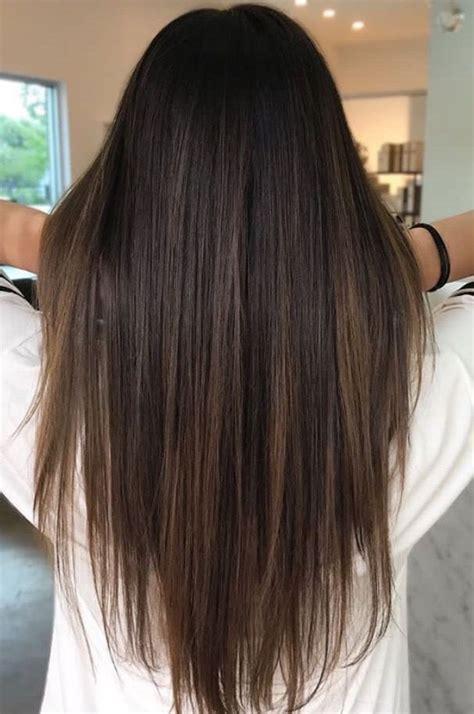 Black Hair Is Brown by Balayage Hair Brown Highlights