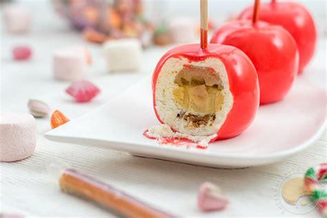 blogs recettes cuisine pommes d amour entremets pomme caramel au beurre salé