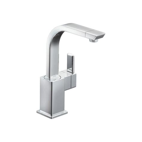 Moen 90 Degree Vessel Faucet by Moen S5170 Chrome High Arc Bar Faucet From The 90 Degree