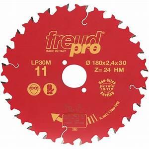 Lames Scie Circulaire : lame scie circulaire freud pro 180x30mmx24dts lp30 ~ Edinachiropracticcenter.com Idées de Décoration