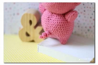 Pig Crochet Tail Amigurumi Curly Tails Pattern