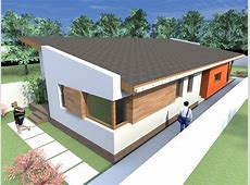 One story house plans Modern house plans with 1 story