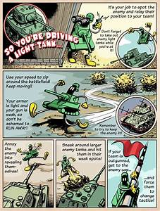 Comic  Light Tanks