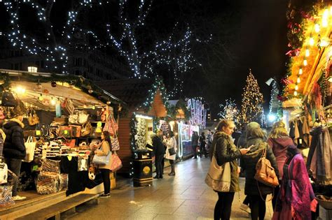 christmas market in belfast as month countdown starts