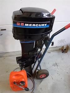 Outboard Motor Mercury 25 Hp - Ca 1993