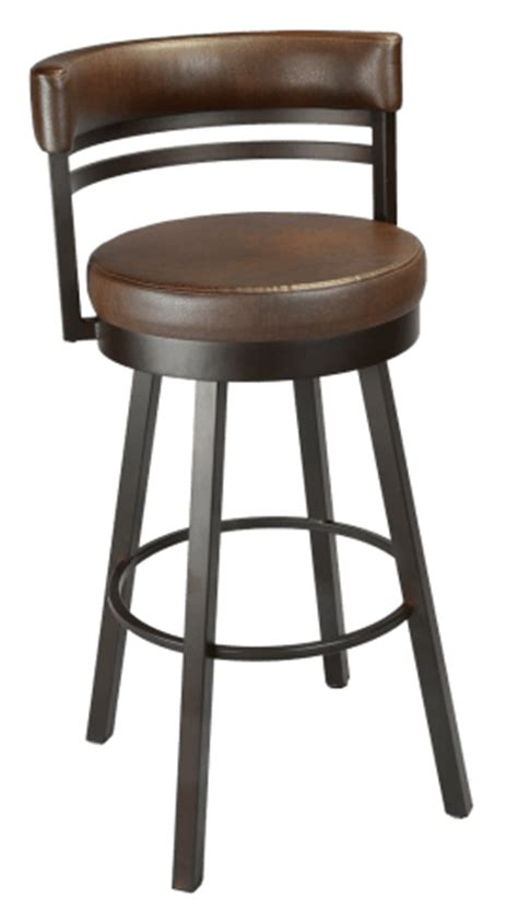 low back swivel counter stools ronny 41442 peters billiards 9065