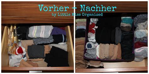 Minimalismus Vorher Nachher by Die Sockenschublade Miss Organized