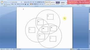 Draw A Venn Diagram On Word