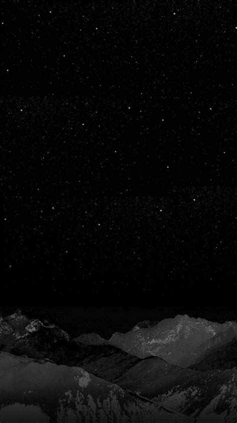 Abstract Black Wallpaper For Iphone X by Black Winter Mountain Wallpaper Iphone