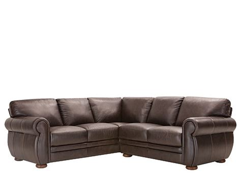 Raymour And Flanigan Small Sofas by Marsala 2 Pc Leather Sectional Sofa Chocolate Raymour