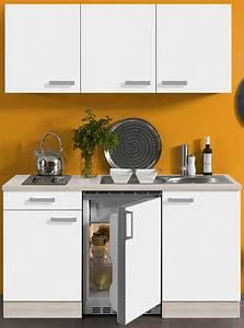 Singleküche 150 Cm : singlek che barcelona mit elektro kochfeld 8 teilig breite 150 cm wei k che ~ Watch28wear.com Haus und Dekorationen
